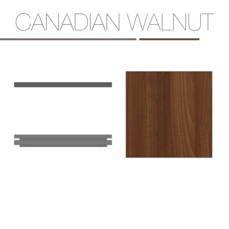 Canadian Walnut Laminate Base Top
