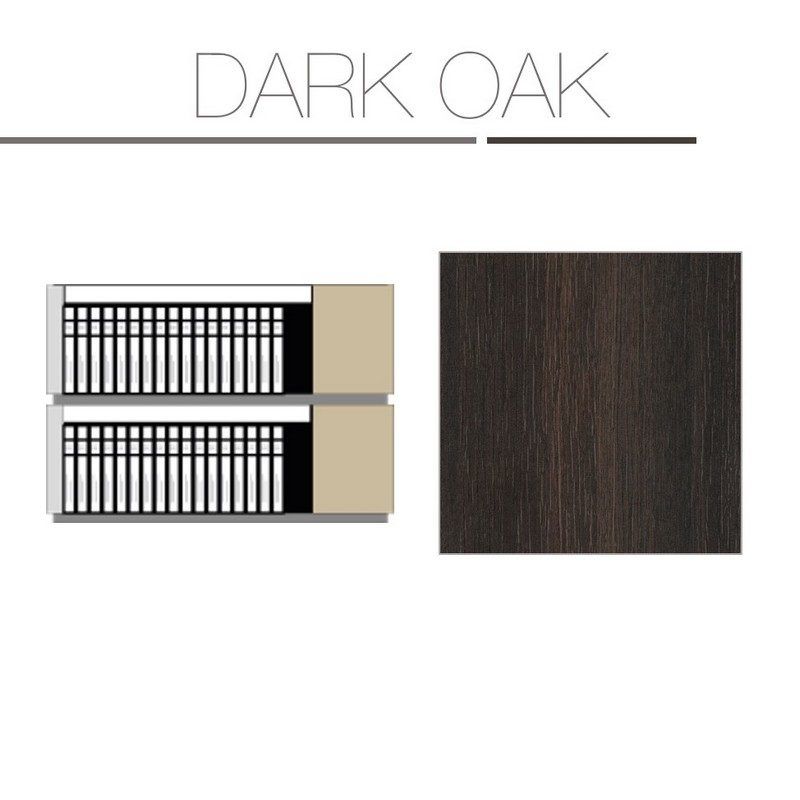 Dark Oak 2 Tier Kit