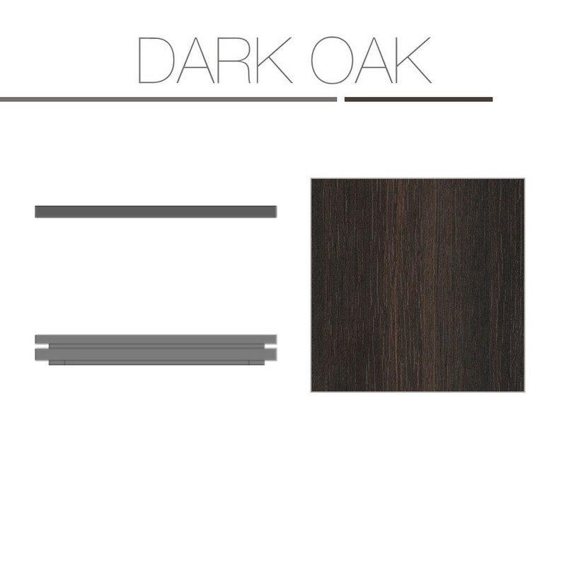 Dark Oak Laminate Base Top
