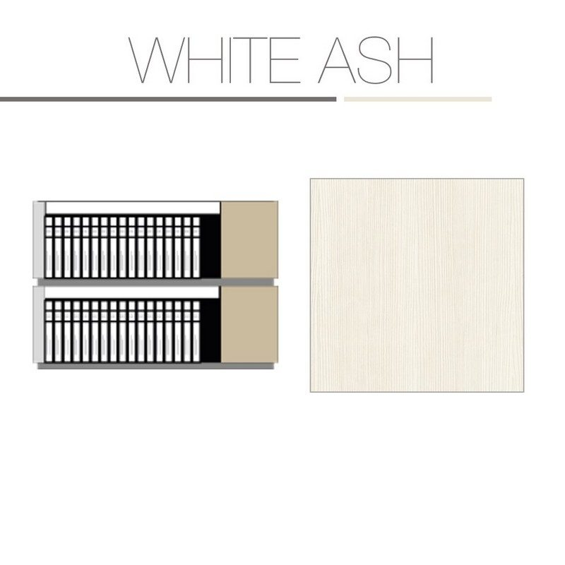White Ash 2 Tier Kit