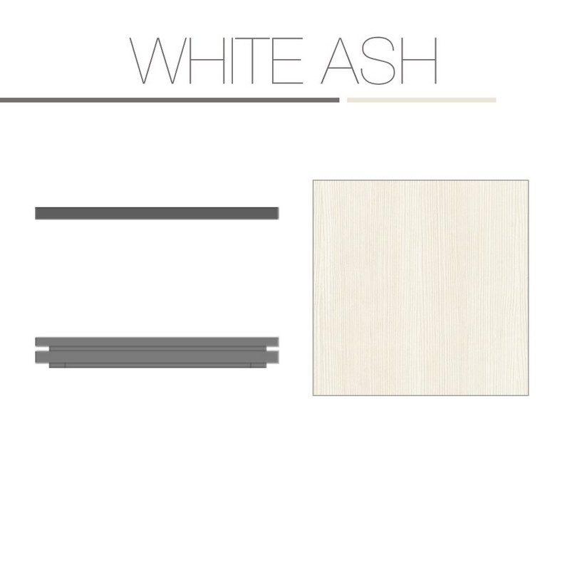White Ash Laminate Base Top